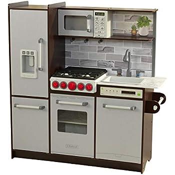 Amazon.com: KidKraft Uptown Espresso Kitchen: Toys & Games