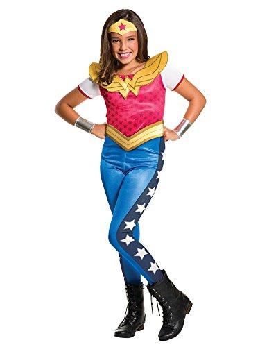 Rubie's Costume Kids DC Superhero Girls Wonder Woman Costume, Large ()