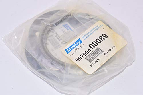 New, LoveJoy, C2 Accy Kit, 00089, 697904, Flange Coupling Kit, Seals ()