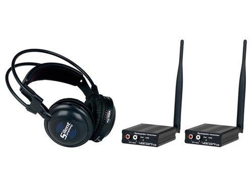 VocoPro Broadcast Head 2 Trans 100 Headphone - SILENTSYMPHDISCO by VocoPro