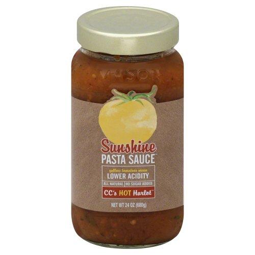 Sunshine Pasta Sauce, Pasta Sce, Cc Hot Harlot, Pack of 6, Size - 24 OZ, Quantity - 1 Case