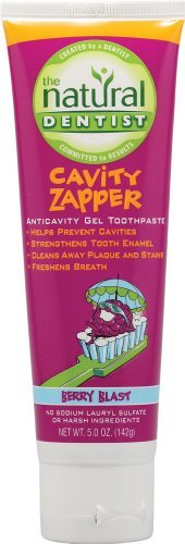 Natural Dentist (The) Toothpastes Anticavity Fluoride Gel Toothpaste, Berry Blast Cavity Zapper for Kids 5 oz. (a)