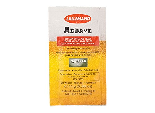 Lallemand Dry Yeast - Abbaye (11.5 g) (Pack of 5)