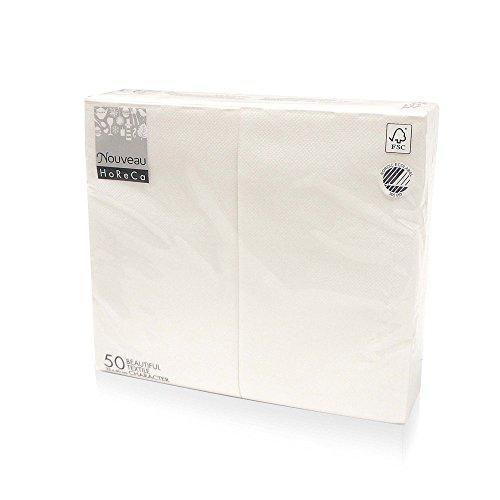 Nouveau Cloth-Like Disposable Paper Dinner Napkins, 17