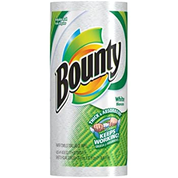 bounty paper towels bounty paper towels white regular roll 31051
