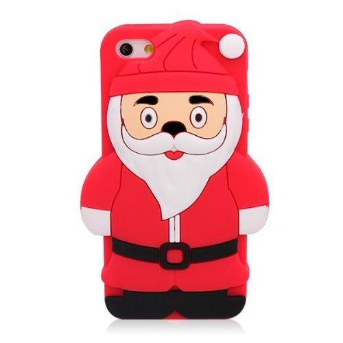12 opinioni per SKS Distribution® rosso Santa Claus Babbo Natale Custodia in silicone / Cover /