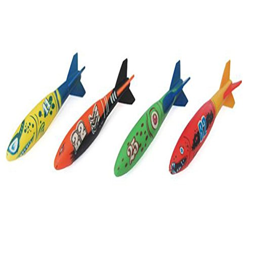 Piscina Buceo Verano Juego Boya Itian 4pcs Torpedo