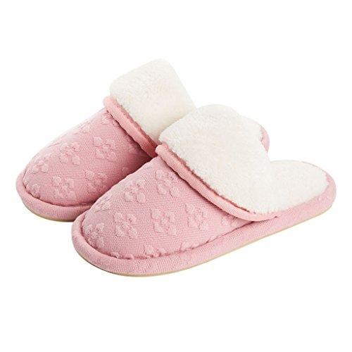 Coton Pantoufles Hiver Int Femme de Chaussons DWW Hiver w1qx8nIgEa