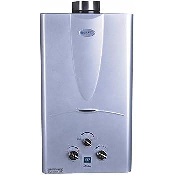Marey Power Gas 10L 2.7GPM Propane Gas Digital Panel Tankless Water Heater