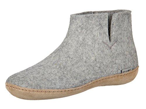 Glerups Womens Model G Boot (43 D EU / 9.5-10 D US Men, Grey) (Boots Felt)
