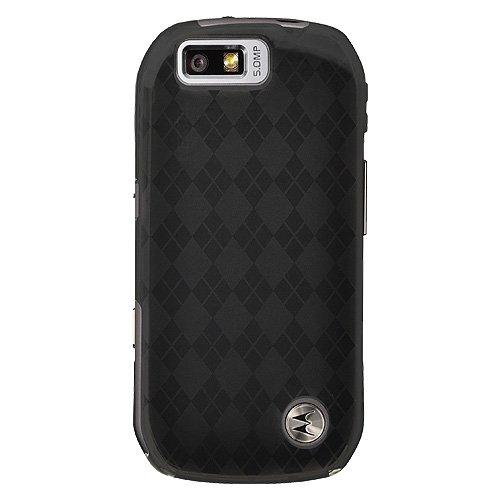 Argyle Embossed Belt (Amzer Luxe Argyle Skin Case for Motorola i1 - Smoke)