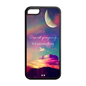 FEEL.Q- Unique Custom TPU Rubber iPhone 5C Case Cover - Love Quote