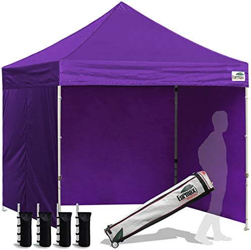 Eurmax 8×8 Feet Ez Pop up Canopy Tent