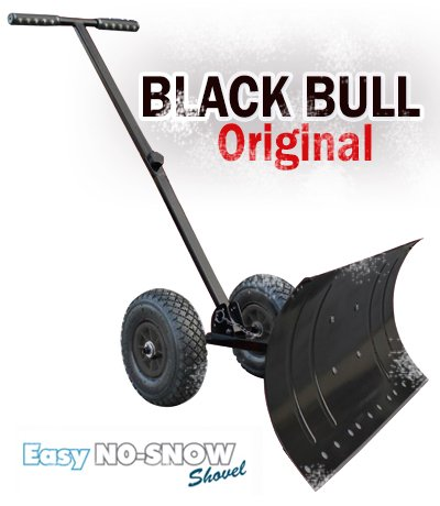 Heavy-Duty-Rolling-Snow-Shovel-with-Rotatable-Steel-Blade-5-Way-Adjustable-Handle-and-Extra-Large-Rubber-Wheels-for-Easy-Rolling