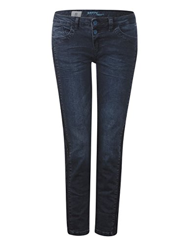 Donna Jeans Wash Street 11481 Blau Blue Slim One Stone dark tOtgUw