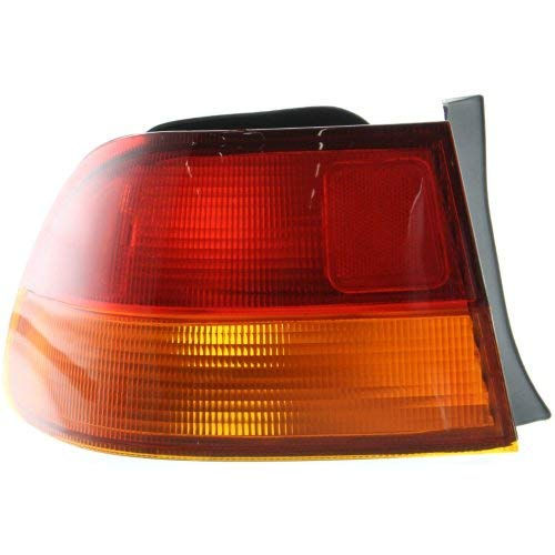 Garage-Pro Tail Light for HONDA CIVIC 96-98 LH Outer Lens and Housing Coupe