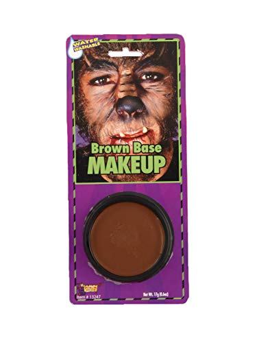 Forum Novelties 13247 Grease Makeup, One Size, Brown (Pack of 24)]()