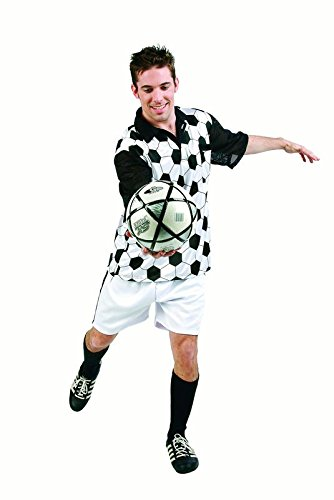 (Soccer Player Adult Costume Size)