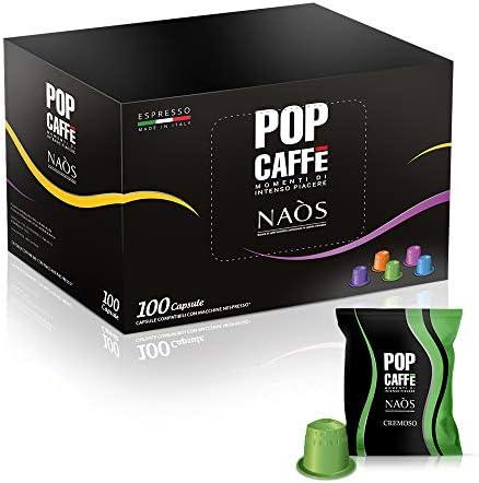 Nespresso Compatibili 100 capsule Miscela .2 Cremoso POP CAFFE