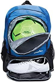 Athletico Youth Soccer Bag - Soccer Backpack & Bags for Basketball, Volleyball & Football   for Kids,