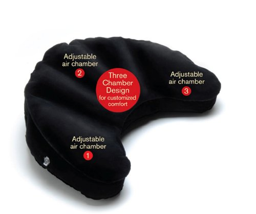 Mobile Meditator Inflatable Meditation Cushion and Travel Pillow