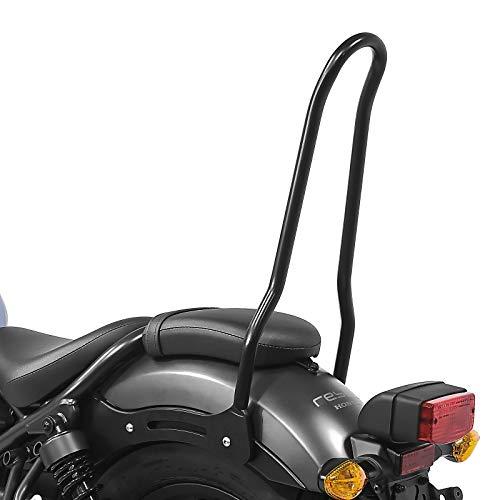 Respaldo Sissy Bar para Honda Rebel 500 17-20 Craftride SRL Negro