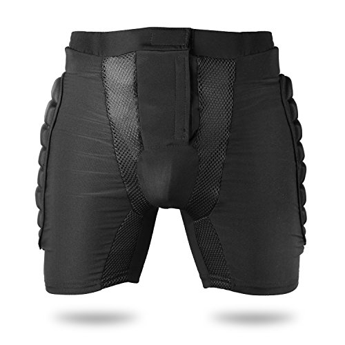Basecamp Padded Impact Protective Shorts Men's Women's Protective Hip Butt Pad Basketball Outdoor Sports Snowboard Skating Skiing Compression Drop Resistance Impact Padded Protection Shorts Pants
