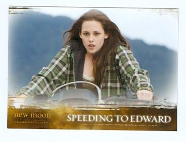 Kristen Stewart Bella trading card Twilight New Moon 2009 Summit #49 Motorcycle