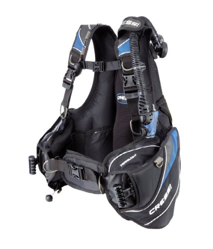 Cressi Sub Mens Travelight Ultra Light Scuba Diving Travel BCD, ()