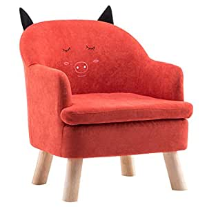 Amazon.com: ALUS- Childrens Sofa Cute Reading Lazy Seat ...