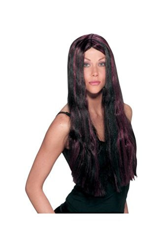 FunWorld Witch Striped Wig Black (Witch Striped Wig)