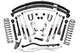 97 cherokee lift kit - Rough Country - 63330-4.5-inch X-Series Suspension Lift System w/Premium N3 Shocks for Jeep: 84-01 Cherokee XJ 4WD