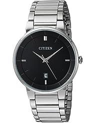 Citizen Mens Quartz Stainless Steel Watch, BI5010-59E