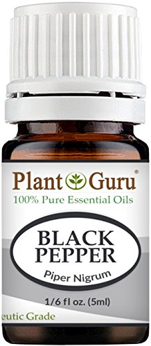 Black Pepper Essential Oil (Piper Nigrum) 5 ml. 100% Pure Undiluted Therapeutic Grade. (Black Clove Cigarettes)