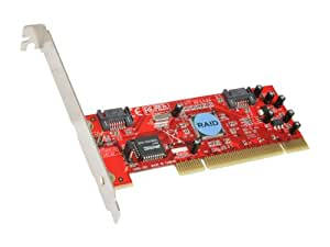Rosewill RC-201 32 bit, 33/66MHz PCI SATA RAID Low Profile PCI Host RAID 0/1