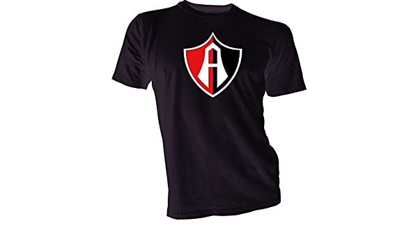Amazon.com : CLUB ATLAS Guadalajara Mexico Futbol Soccer Black T-SHIRT Camiseta NEW Size s-4x : Sports & Outdoors