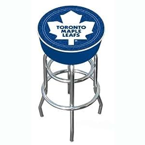 Nhl Toronto Maple Leafs Padded Bar Stool Barstools Amazon Canada