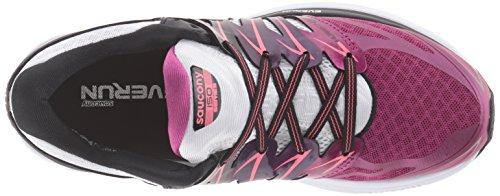 Les Femmes Saucony Ouragan Iso 2 Chaussures De Course Noir