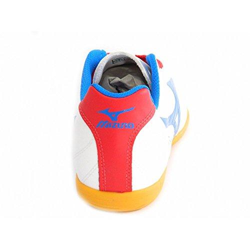 Mizuno - Mizuno calcetto Fortuna 4 IN Bianco Rosso Blu 36967 - 39