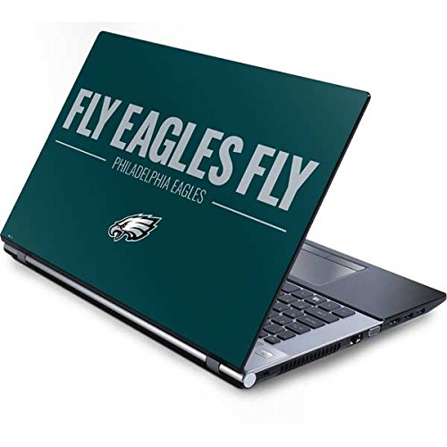 (Skinit Philadelphia Eagles Team Motto Generic 15.4in Laptop Skin - Officially Licensed NFL Laptop Decal - Ultra Thin, Lightweight Vinyl Decal Protection)