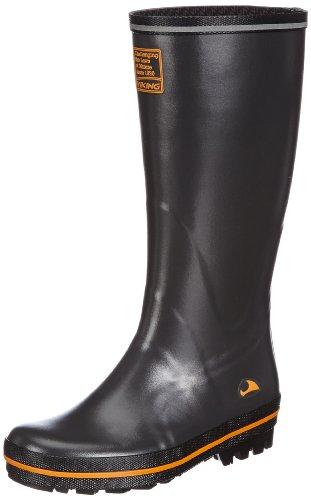 Viking Tracker Unisex Erwachsene Langschaft Gummistiefel Grau (Antracit/Multi 7750)