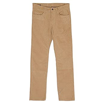 a994bebbf651e Tommy Hilfiger Mercer Five Pocket Corduroy Trousers In Beige - Size  30 32leg  Amazon.co.uk  Clothing