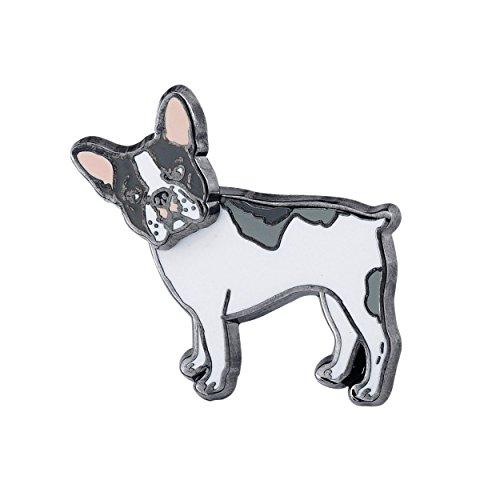 - Pin Pushers French Bulldog Dog Enamel Lapel Pin Brooch