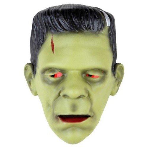 Monsterville Frankenstein Animated Light Up Door Greeter - Sound Activated