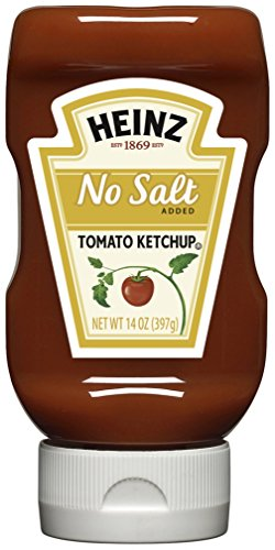 Heinz No Salt Ketchup 14 product image