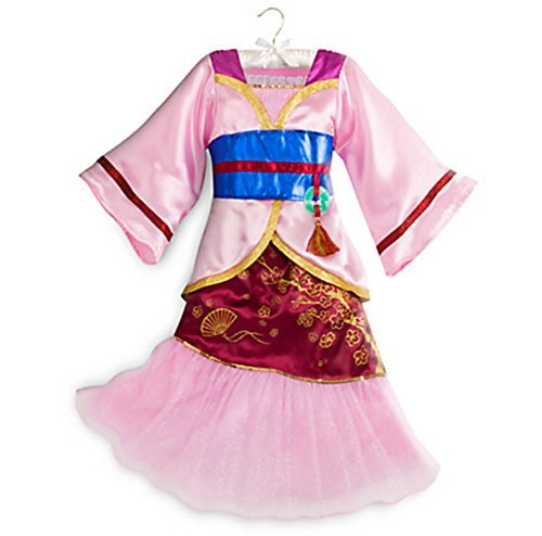 [Disney Store Princess Mulan Costume 2016 (7/8)] (Girls Jade Princess Costumes)