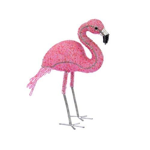 Grass Beadworx (Grass Roots Creations Flamingo Beadworx Sculpture, Small, Pink)