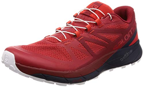 Navy Running Shoe High Men's Red Salomon Sense Ride Risk Dahlia Red Blazer qg8Sx4Uf