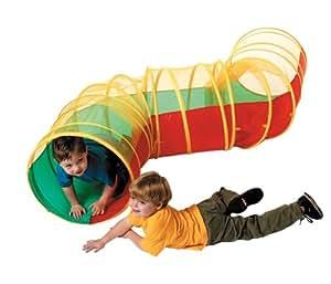 Túnel de juguete en zig zag para niños