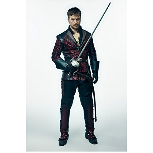 The Musketeers Matt Stokoe as Captain Marcheaux holding sword 8 x 10 Inch Photo